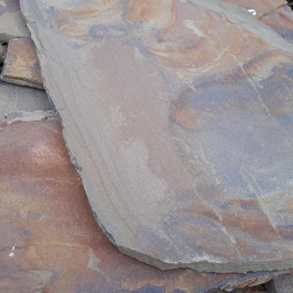 Песчаник Листопад необработанный
